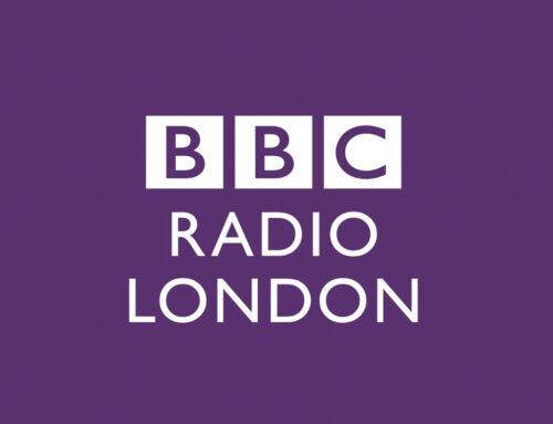 SMFF live on BBC London Radio